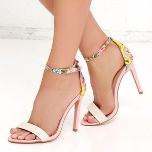 Sugar Dumpling Floral Ankle Strap